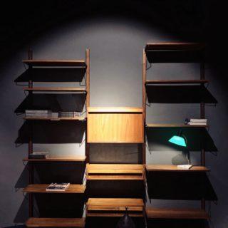 Libreria A Muro In Legno.Libreria A Muro Cool La Libreria Sospesa Mantiene Tutte Le Di